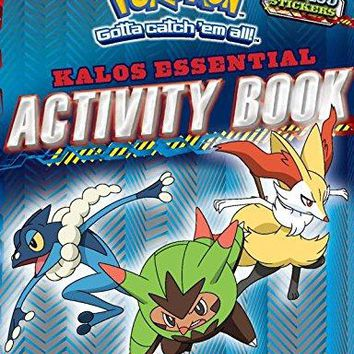 Pokemon Essential Activity Book Pokemon ACT