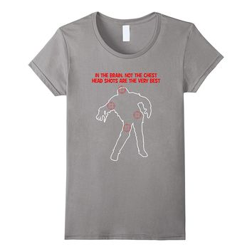 Target Practice Zombie T-Shirts