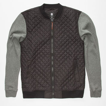 Element Clubhouse Mens Jacket Black  In Sizes