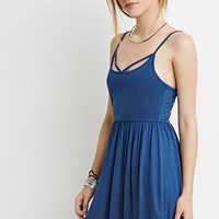 Crisscross Cami Babydoll Dress