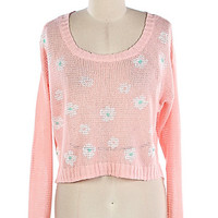 Dainty Daisy Sweater | Bloody-Fabulous