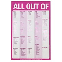 All Out Of... Notepad