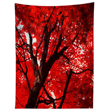 Happee Monkee Red Canopy Tapestry