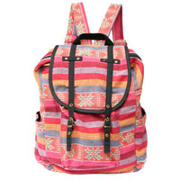 Pink Rucksack Boho-Chic Backpack Girl/Women/Cute/Pretty/Sweet