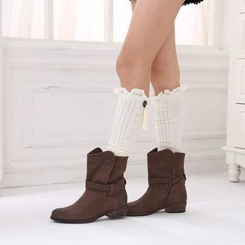Women Cotton Long Stockings Fashion Sexy Thigh High Over the Knee Socks Thick For Girls solid color High Knitting Boot Socks