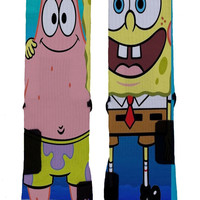 Sponge Bob Nike Elite Socks