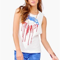 Patriot Talk Tank - Ivory