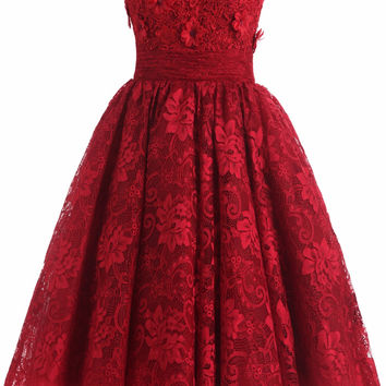 JY 2016 Sexy Sweetheart Appliques Lace Short Cocktail Dresses Maroon color Homecoming Gown Formal Dress