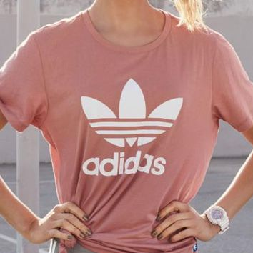 "shosouvenir :Adidas ""Short sleeved cotton sport T-shirt"