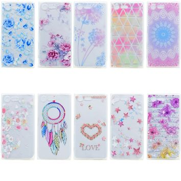 For Sony Xperia XA X Performance X Compact Case,3D Flower Custom-made Painted Back Cover Case For Sony Xperia E5 Customized Case