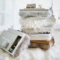Faux-Fur Superstorage Lapdesk