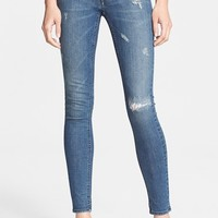 Women's BLK DNM 'Jeans 26' Destroyed Skinny Jeans ,