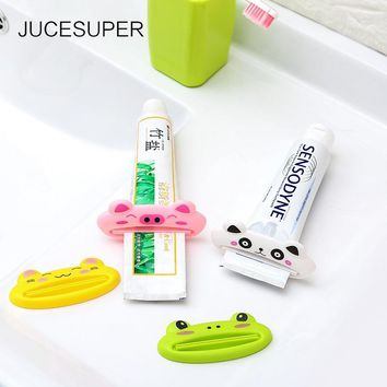 5PCS Plastic Toothpaste Minion Squeezer Toothpaste Extruder For Children For Home House Bathroom Gadgets Villa Accessories