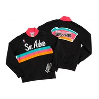 1994-95 Authentic Warm Up Jacket San Antonio Spurs Mitchell & Ness Nostalgia Co.