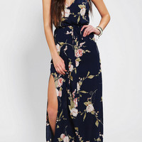 Reformed By The Reformation V-Back Maxi Dress
