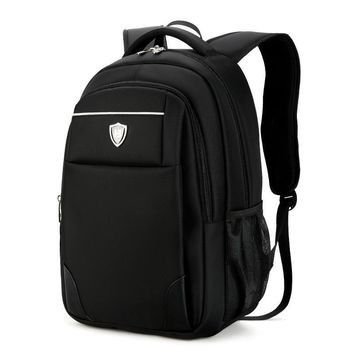 fashion Large Capacity Wearable waterproof material Mochila Women's Men's Backpacks Bags Casual Business Laptop Backpack 15 Inch