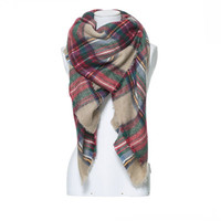 CHECKED SOFT SCARF - Scarves - Accessories - Woman | ZARA United States