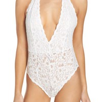 Free People Intimately FP Avery Lace Bodysuit | Nordstrom