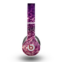 The Unfocused Purple & Pink Glimmer Skin for the Beats by Dre Original Solo-Solo HD Headphones