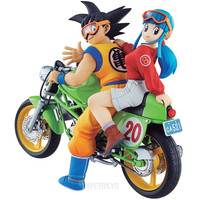 DRAGON BALL Mega House Non Scale Figure : Son Goku and Chichi [PRE-ORDER] - HYPETOKYO