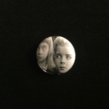 "VILLAGE OF THE DAMNED 1"" button"