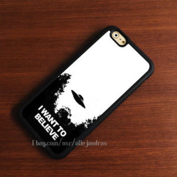 i Want To Believe iPhone 6s Plus case 5s 5c SE 4s iPod HTC LG and Samsung Cases