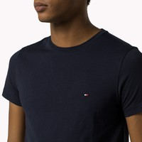 Men's Tommy Hilfiger Casual Embroidery Shirt Top Tee
