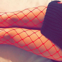 Sexy Womens Fishnet Tights Seamless Mesh Pantyhose 2017 Summer Ladies Nylon Stockings Tights Footless Fish Net Tights Collant