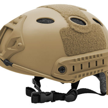 Lightweight Airsoft Helmet - Tan
