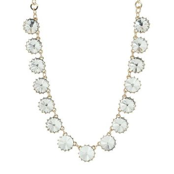 Tess Sparkly Bauble Necklace