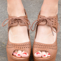 Follow The Leader Wedges: Cognac