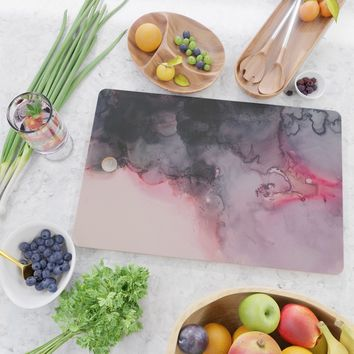 Kiss Goodbye Cutting Board by duckyb