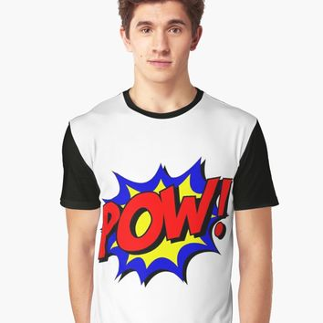 'POW' Graphic T-Shirt by IMPACTEES