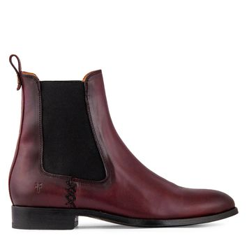 Frye Melissa Chelsea Boot Women's - Wine