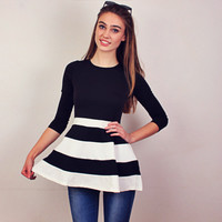 Foxy Stripe Dress