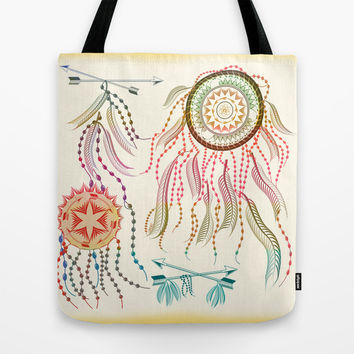 Dream Catcher Tote Bag by Famenxt