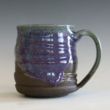 Pottery Coffee Mug, handmade ceramic cup, handthrown mug, stoneware mug, pottery mug, unique coffee mug, ceramics and pottery