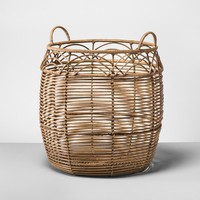 Rattan Basket Large - Natural - Opalhouse™