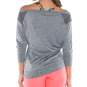 Take On the World Workout Top