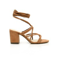 All Tied Up Sandal - Camel