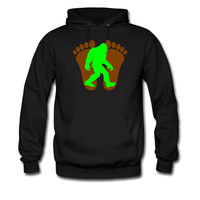 Bigfoot Footprints hoodie sweatshirt tshirt