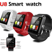 Bluetooth Smart U8 Wrist Watch for Samsung S4,S5,S6 edge Note 3,4 HTC Android Phone