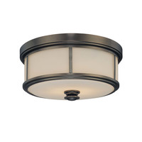 Minka Lavery Harvard 2 Light Court Flush Mount