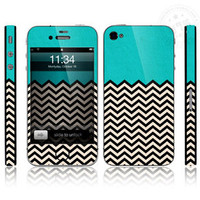 Cool Geometric Pattern Full Body Sticker For Iphone 4/4s/5