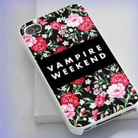 iPhone case,iPhone 4/4s 5 5s 5c,Samsung S2 S3 S4,iPod 4 5,Htc One,Htc One X,Blackberry, Vampire Weekend