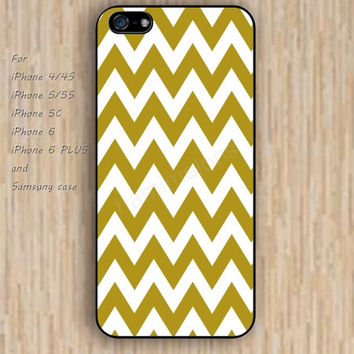 iPhone 6 case dream golden chevron iphone case,ipod case,samsung galaxy case available plastic rubber case waterproof B193