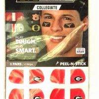 georgia bulldogs ncaa licensed eyeblack (4-pack) Case of 72