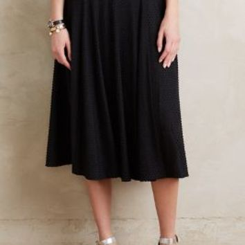 Maeve Berkeley Midi Skirt in Black Size:
