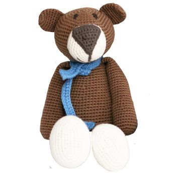Atty Brown Bear Organic Stuffed Animal