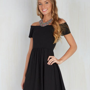 East and Every Day Dress in Black | Mod Retro Vintage Dresses | ModCloth.com